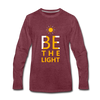 Be The Light - heather burgundy