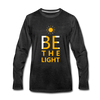 Be The Light - charcoal gray
