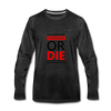 Forward Or Die - charcoal gray