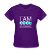I Am Cool No Comment - purple