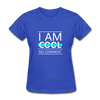 I Am Cool No Comment - royal blue