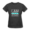 I Am Cool No Comment - heather black