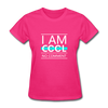 I Am Cool No Comment - fuchsia