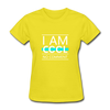 I Am Cool No Comment - yellow