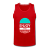 Enjoy The Summer - red