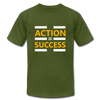 Action = Success - olive