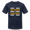Action = Success - navy