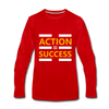 Action = Success - red