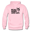 Real Women Love Cats - light pink