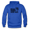 Real Women Love Cats - royal blue