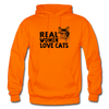 Real Women Love Cats - orange