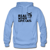 Real Women Love Cats - carolina blue