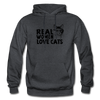 Real Women Love Cats - charcoal gray
