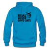 Real Women Love Cats - turquoise