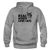 Real Women Love Cats - graphite heather