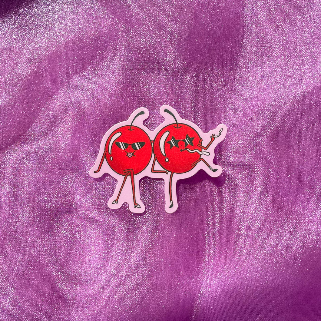 Cool Cherries Sticker