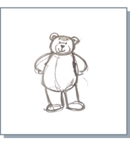 Load image into Gallery viewer, Noah Bear Greetings Cards - Pack of 20