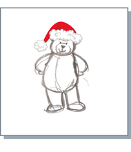 Load image into Gallery viewer, Christmas Noah Bear Greetings Cards - Pack of 20