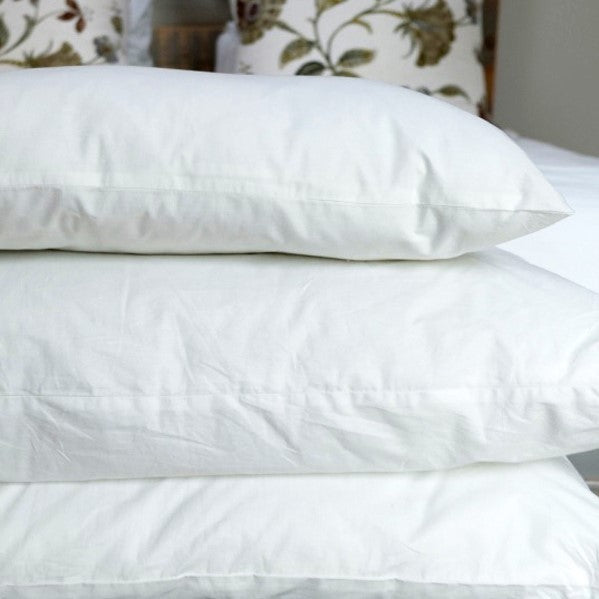 Pillows with cotton casing
