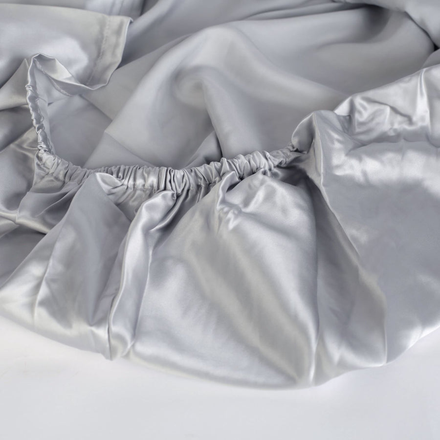 Dove Grey Fitted Sheets
