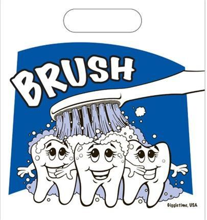 Brush Teeth Small Gift Bag, 1 pc - Osung USA