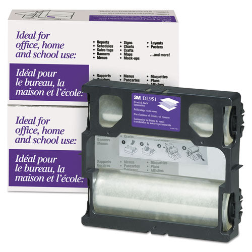 "Refill For Ls950 Heat-free Laminating Machines, 5.6 Mil, 8.5"" X 100 Ft, Gloss Clear"