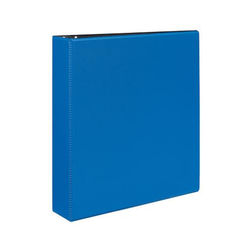 "Durable Non-view Binder With Durahinge And Slant Rings, 3 Rings, 2"" Capacity, 11 X 8.5, Blue"
