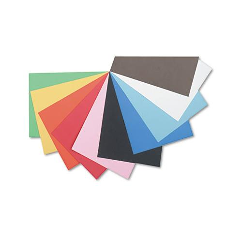 Tru-ray Construction Paper, 76lb, 12 X 18, Assorted Standard Colors, 50-pack