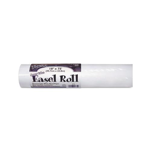 "Easel Rolls, 35lb, 18"" X 75ft, White"