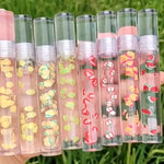 PRIVATE LABEL, Wholesale Luxury PREMIUM quality pre-filled Fruity Crystal Glossy Gloss. 8 Flavours (Free Shipping)