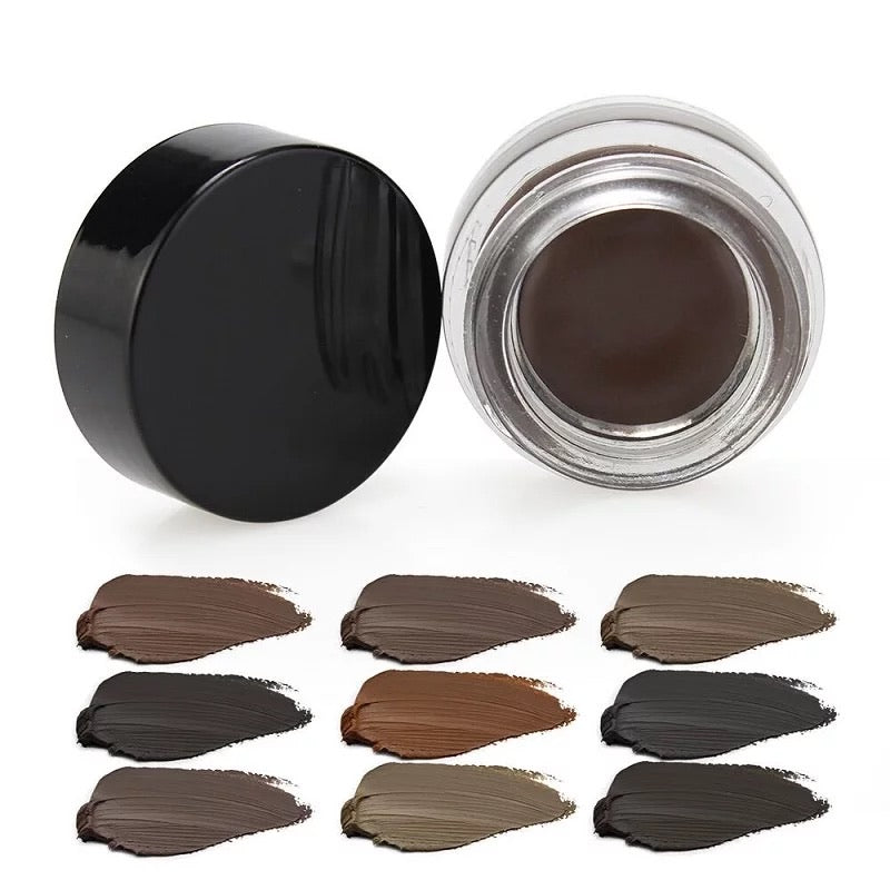 PRIVATE LABEL, Wholesale Luxury PREMIUM quality Waterproof Creamy Eyebrow-Pomade/Long Lasting High Pigment 9 Shades (Free Shipping)