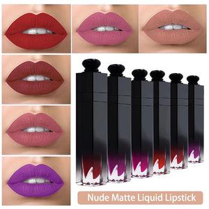 PRIVATE LABEL, Wholesale Luxury PREMIUM quality pre-filled waterproof, long lasting Nude matte liquid lipstick. 18 colours (Free Shipping)