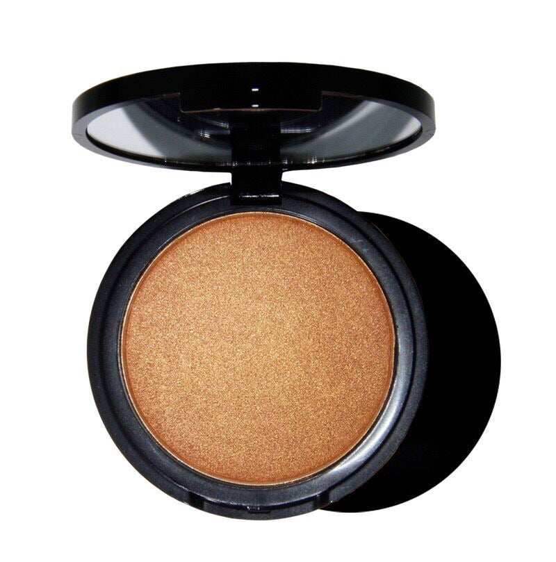 PRIVATE LABEL, Wholesale PREMIUM 50 Piece, Face Contour Glow Bronzer/Highlighter Shimmer Mirror Press Powder, 6 Colours.