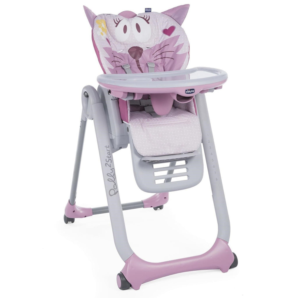 Chicco Polly 2 Start Mama Sandalyesi - Miss Pink-Mama Sandalyeleri-Chicco-minnako