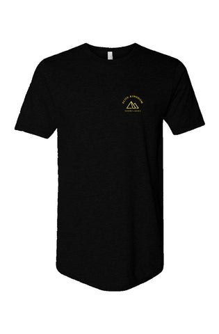 Elite Crest Long Body Short Sleeve Crew