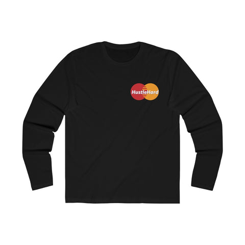 Hustle Card Men's Long Sleeve Crew Tee