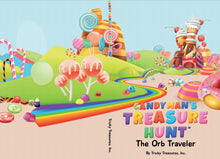 Load image into Gallery viewer, The Candyman's Treasure Hunt THE ORB TRAVELERS Book