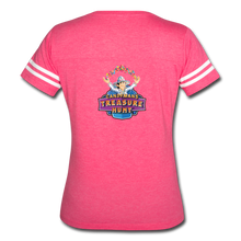 Load image into Gallery viewer, Women's Vintage Sport T-Shirt - vintage pink/white
