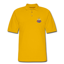 Load image into Gallery viewer, Men's Pique Polo Shirt - Yellow