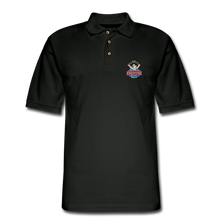 Load image into Gallery viewer, Men's Pique Polo Shirt - black