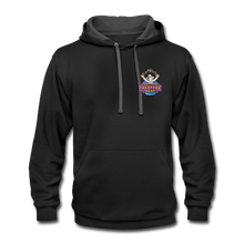 Load image into Gallery viewer, Contrast Hoodie - black/asphalt