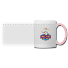 Load image into Gallery viewer, Panoramic Mug - white/pink