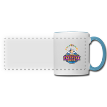 Load image into Gallery viewer, Panoramic Mug - white/light blue