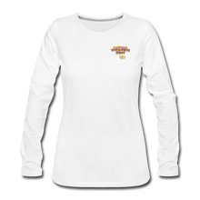 Load image into Gallery viewer, Women's Premium Long Sleeve T-Shirt - white