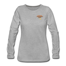 Load image into Gallery viewer, Women's Premium Long Sleeve T-Shirt - heather gray