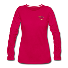 Load image into Gallery viewer, Women's Premium Long Sleeve T-Shirt - dark pink