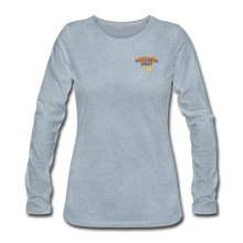 Load image into Gallery viewer, Women's Premium Long Sleeve T-Shirt - heather ice blue