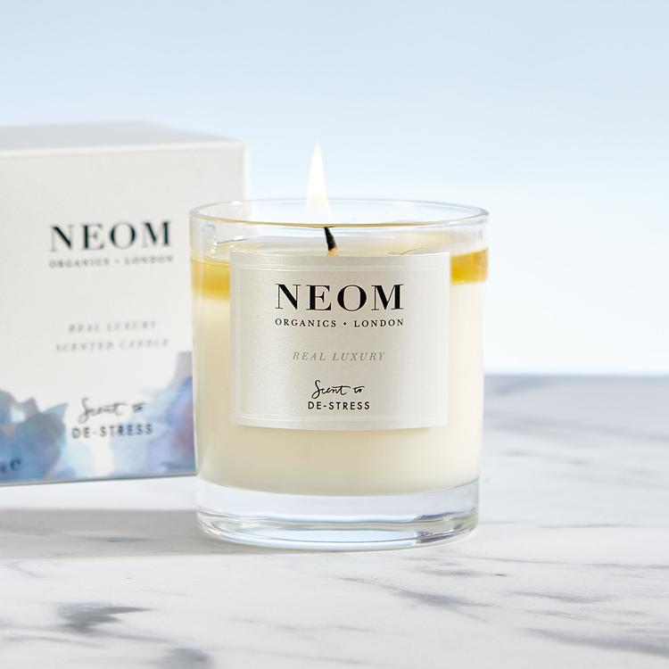 Neom Real Luxury Scented Candle De-Stress