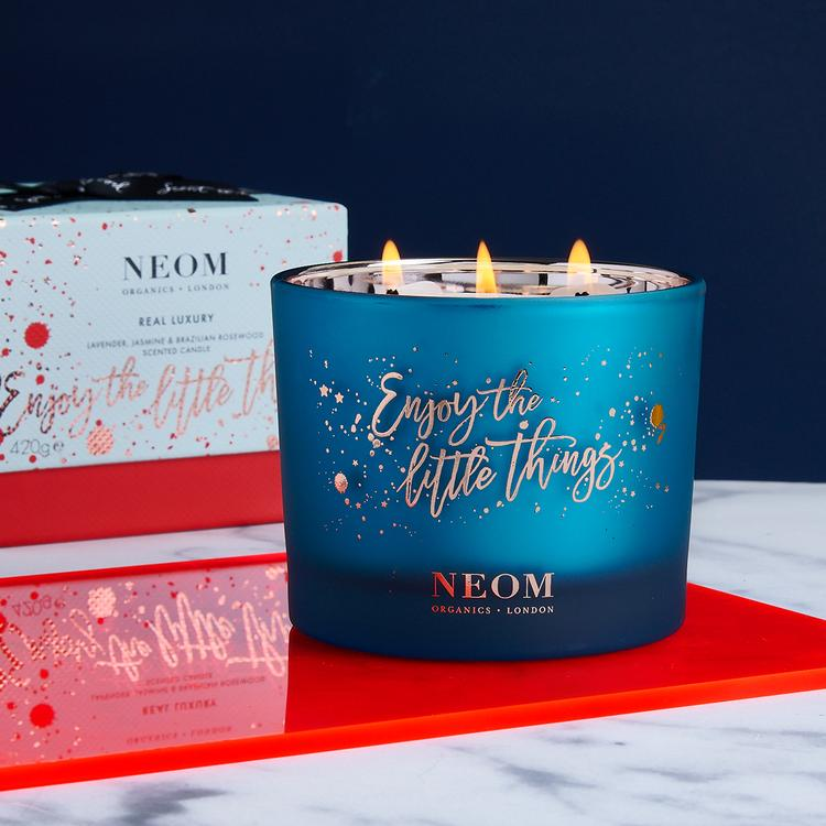 Real Luxury Limited Edition Christmas Candle 3 Wick