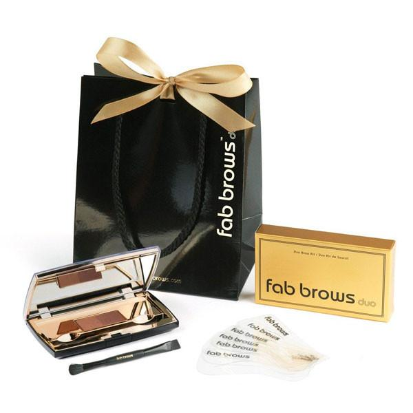 Fab Brows Duo Light Brown Medium Brown
